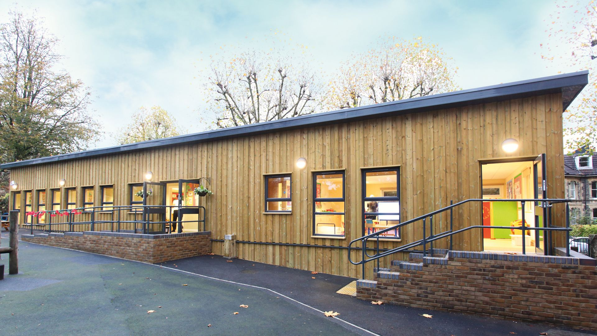 Redland High School for Girls in Bristol modular building