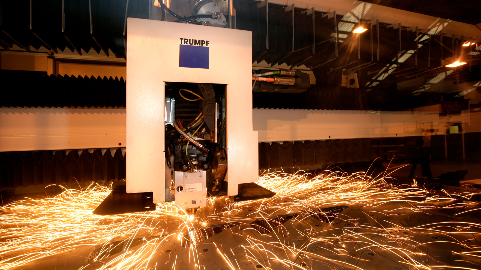 Trumpf laser machine